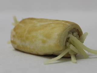 Mini kaas-hamrolletje